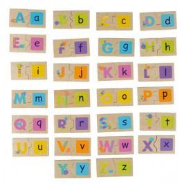BOIKIDO - Obojstranné puzzle - Abeceda