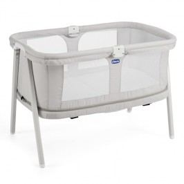 CHICCO - Cestovná postieľka LullaGo Zip - Light Grey