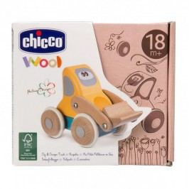 CHICCO - Drevená hračka bager