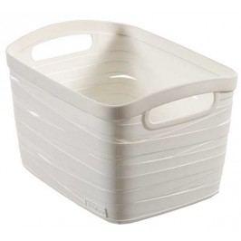 CURVER - Košík Ribbon, umelá hmota, biely - veľkosť S