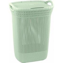Plastový kôš na špinavé prádlo 57 l