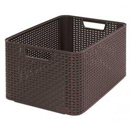 CURVER - Úložný box RATTAN Style2 - L - hnedá