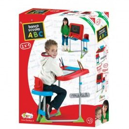 FARO - Detská kovová lavica so stoličkou a tabuľou 2v1 8100