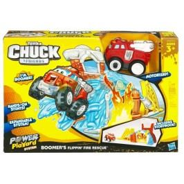 HASBRO - Tonka Chuckovi priatelia sada požiarnik/smetiar