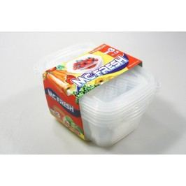 Dózy na potraviny MC Fresh 3 x 1,2 l