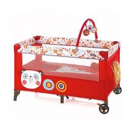 JANÉ - Prenosná cestovná postieľka Two Level Toys, S40