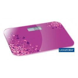 LANAFORM - Electronic Scale digitálna osobná váha ružová