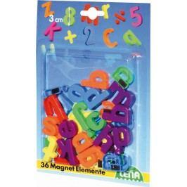 LENA - Magnetické písmenká malé 65746