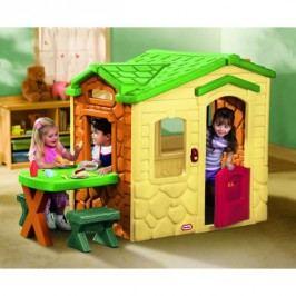LITTLE TIKES - Domček s piknikovým stolíkom natural 172298