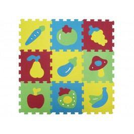 LUDI - Puzzle penové 84x84 cm ovocie a zelenina