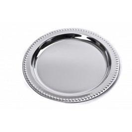 MAKRO - Chrómový podnos okrúhly chrómový 31,7 cm