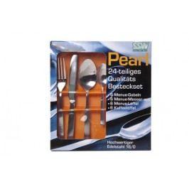 MAKRO - Nerezový príbor Pearl 24 - dielny