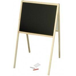 MIKRO - Drevená obojstranná tabuľa 00434