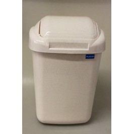 PLAFOR - Plastový odpadkový kôš 30 l - béžový mramor
