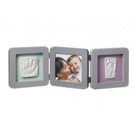 BABY ART - Rámik Double Print Frame Grey