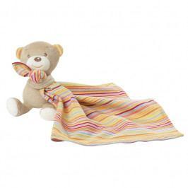 BABY FEHN - Rainbow medvedík s muchláčkem