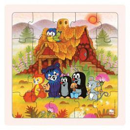BINO - 15004 Puzzle Pani Krtková a priatelia 20 dielov