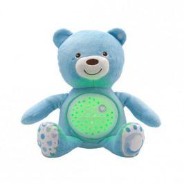 CHICCO - Medvedík s projektorom - modrá