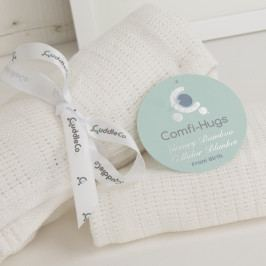 CUDDLECO - Letná deka, Bright White