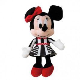 DINOTOYS - Plyšová postavička Minnie čierno-biele šaty 664678