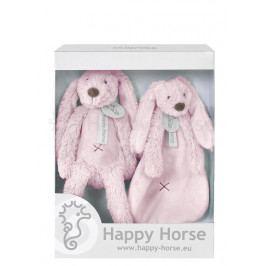 HAPPY HORSE - darčekový set králik Richie - Ružový