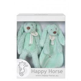 HAPPY HORSE - darčekový set králik Richie - Tyrkys