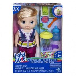 HASBRO - Baby Alive blonďák s mixérom E0635
