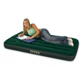 INTEX - Intex nafukovacia posteľ 66927 Downy Twin s integrovanou pumpou,