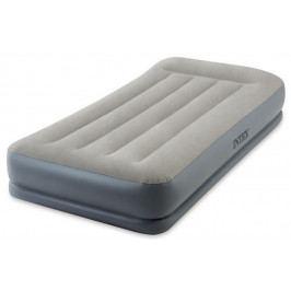 INTEX - nafukovacia posteľ 64116 Mid - Raise Pillow Rest Twin s integrovanou elektrickou pumpou