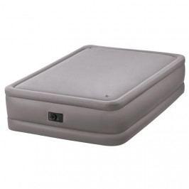 INTEX - nafukovacia posteľ 64470 Foam Top Queen s integrovanou elektrickou pumpou