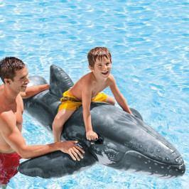 INTEX - Nafukovacia realistická veľryba s držadlami 57530