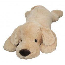 MAC TOYS - Plyšový psík 90 cm, béžový