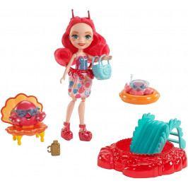 MATTEL - Enchantimals Vodný svet bábika Cameo Crab s herným setom FKV60