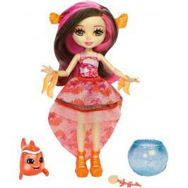 MATTEL - Enchantimals Vodný svet bábika so zvieratkom Clarita Clownfish FKV56