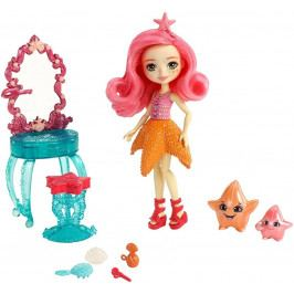 MATTEL - Enchantimals Vodný svet bábika Starling Starfish s herným setom FKV59