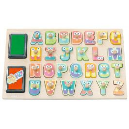 SEVI - Edukačná hračka - Abeceda s pečiatkami