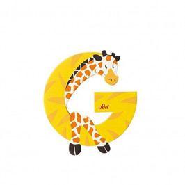 SEVI - Písmenko G - Zvieratko