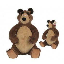 SIMBA - Máša a medveď: Plyšový medveď 25 cm 9301942