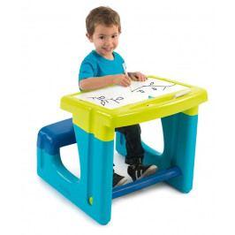 SMOBY - 420101 Školská lavica s tabuľou modrá