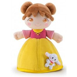 TRUDI - Plyšová bábika Aida so zvieratkom - žltá