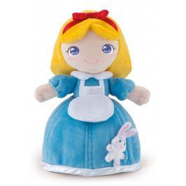TRUDI - Plyšová bábika Allysa so zvieratkom - modrá