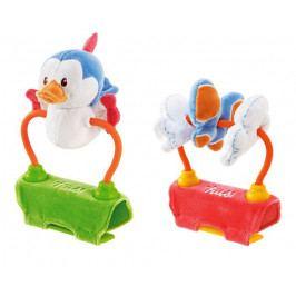 TRUDI - Plyšová hračka na kočík so zvukmi - Vtáčik