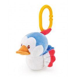 TRUDI - Plyšová hračka na zavesenie so zvukmi - Vtáčik