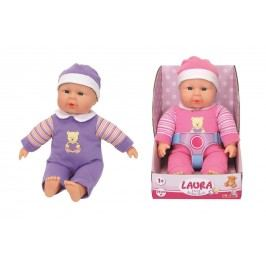 SIMBA - Bábika Laura First Baby Doll 30 Cm, 2 Druhy