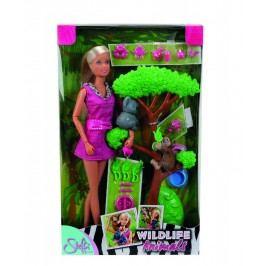SIMBA - Bábika Steffi So Zvieratkami Z Džungle