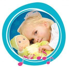 SMOBY - 210106 bábika Minikiss Dou Dou so svetlom a melódiou