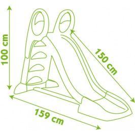 SMOBY - 310262 šmykľavka 150 cm s vlhčením