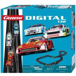 CARRERA - Autodráha Carrera D132 30002 DRM Retro Race