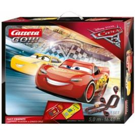 CARRERA - Autodráha Carrera GO 62419 Cars 3 Fast Friends
