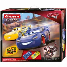 CARRERA - Autodráha Carrera GO 62446 Cars 3 - Radiator Sprin
